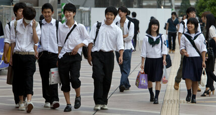 Time to leave the nest? Japan's Abe pushes youths to head overseas