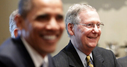 Obama and McConnell, one on one: Can they get business done?