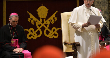Pope critical of Vatican bureaucrats