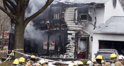 Three killed when private jet crashes into DC-area home