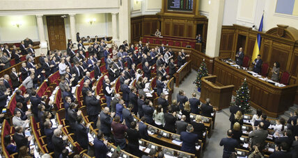 Ukraine moves away from nonaligned status