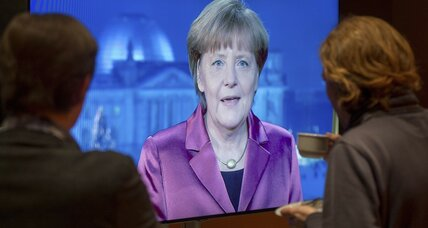 Merkel's history-making style for Germany