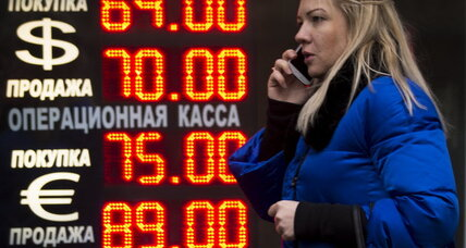 Fall of Russian ruble injects uncertainty into global economy