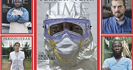 Why Ebola fighters are Time Magazine's 'Person of the Year' (+video)