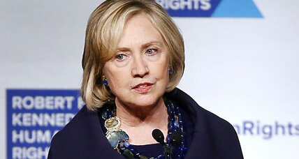 What did Hillary Clinton say about the torture report?