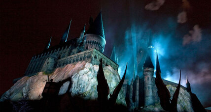Polish event brings 'Harry Potter' castle Hogwarts to life