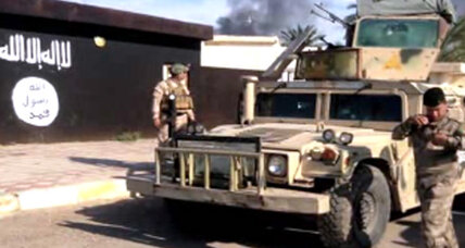 IS militants attack Iraqi-Syrian border crossing, killing 15 Iraq policemen
