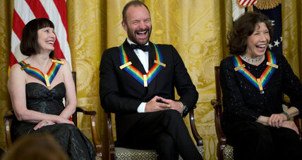 Sting, Tom Hanks, Lily Tomlin are selected for Kennedy Center Honors (+video)
