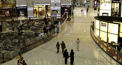 American teacher stabbed in mall restroom in Abu Dhabi (+video)