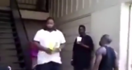 Does this video show Michael Brown beating an old man? Not likely.
