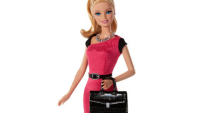 Entrepreneur Barbie doesn't need to wear pink to get the job done