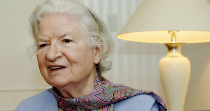 P.D. James spun crime into literature