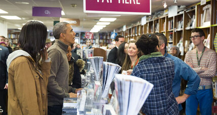 Thanksgiving weekend was kind to some independent bookstores (+video)