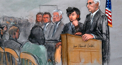 The view from the courthouse in the Dzokhar Tsarnaev trial (+video)