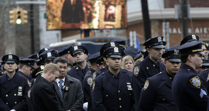 After police turn back on mayor again, where does New York go from here? (+video)