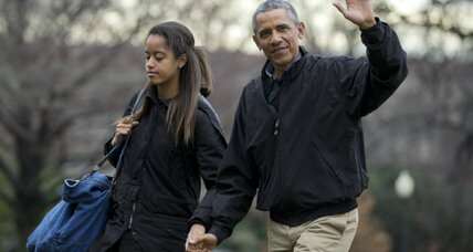 Malia Obama mystery selfie: What's the message?