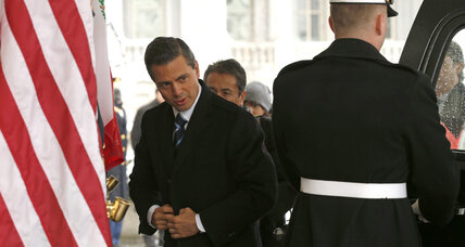 Will Obama provide Mexico's besieged president a much-needed lifeline?