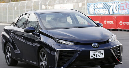 CES 2015: Toyota will make 5,600  hydrogen fuel cell patents available for free