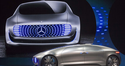 Mercedes-Benz F015 self-driving car concept debuts at CES 2015 (+video)