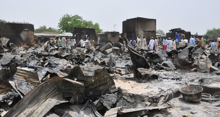 Boko Haram continues violence in new attack on Nigerian town