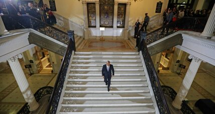 Former Mass. Gov. Deval Patrick takes 'Lone Walk' back to private citizenship
