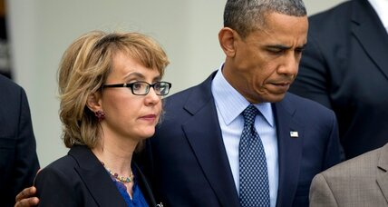 Obama and Gabby Giffords converge on 4th anniv. of shooting