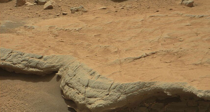 Are there fossils on Mars?