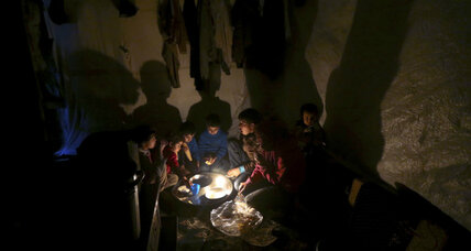 United Nations: Brutal winter deepens crisis for Syria's refugees (+video)