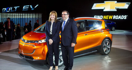 GM reveals affordable, fully electric Chevy Bolt