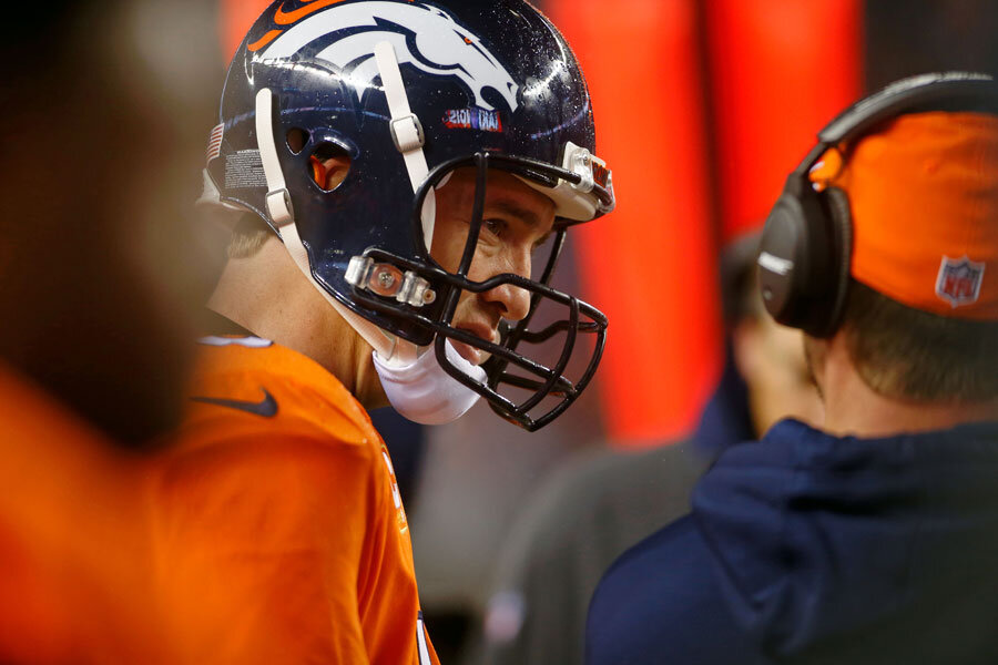 For Once Indianapolis Colts Profit From Peyton Manning S