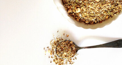 Add some crunch with savory dukkah