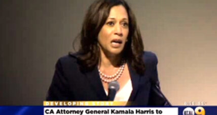 California's AG Kamala Harris announces bid for Barbara Boxer's US Senate seat