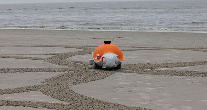Disney Research team builds robot that draws in the sand