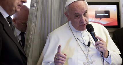 Does the Pope believe in global warming?