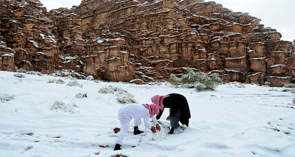 Seriously, a fatwa against snowmen? Saudis push back on Twitter.