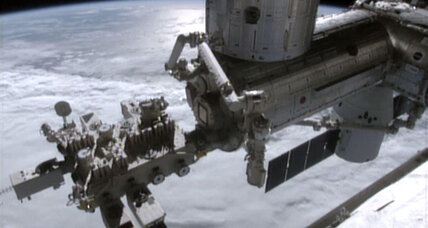 Chemical leak scare prompts astronauts to abandon part of space station