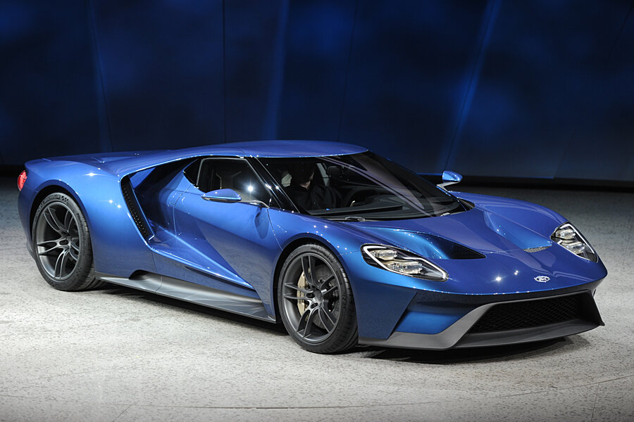 Ford GT Will Be The Cover Car For Forza Motorsport 6 On XBox One