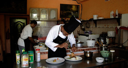 Cuba's latest revolutionary trend: Fine dining