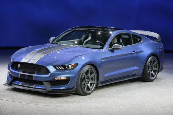 the mustang gt 350r is unveiled during the north american international auto show monday jan 12 2015 in detroit