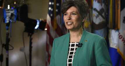 Why Joni Ernst is a good choice to rebut State of the Union