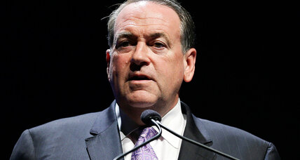Is Huckabee happy about Stewart's Beyoncé slam?