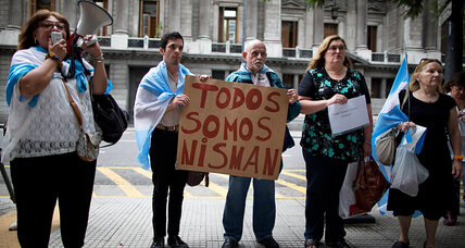 What's at stake in the mysterious death of an Argentine prosecutor? (+video)