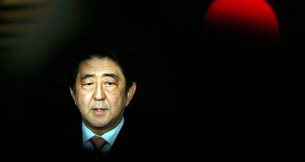 Will Abe's hostage crisis polarize Japan? PM fights time. (+video)