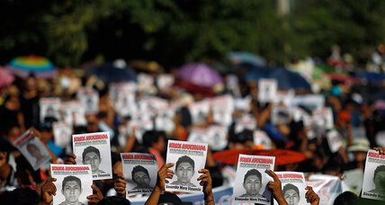 DNA test setback: Mexicans still stumped by missing students case. (+video)