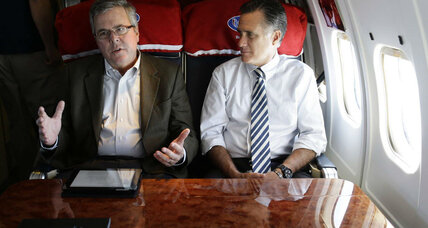 Romney-Bush summit meeting: What's the agenda?