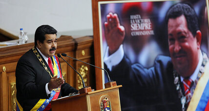 Economy in tatters, Venezuela's Maduro tells citizens 'God will provide'