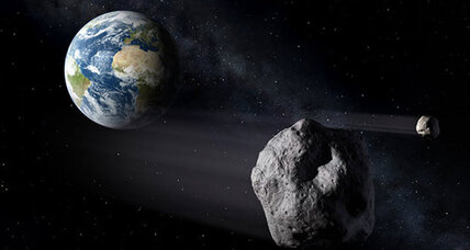 Huge asteroid to zoom past Earth Monday