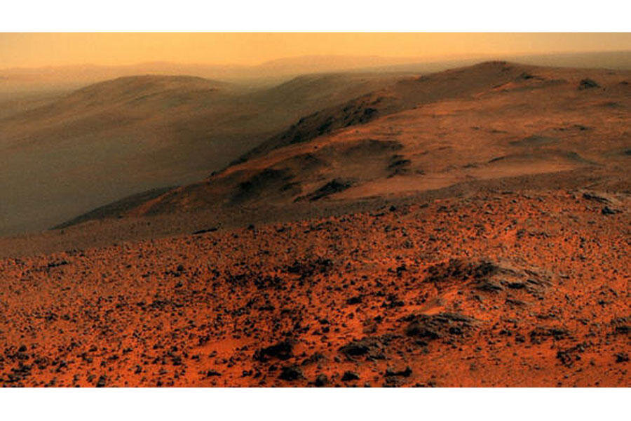 11-year-old Mars rover snaps spectacular photo - CSMonitor.com