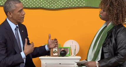 Obama's interview with GloZell: undignified or smart outreach? (+video)