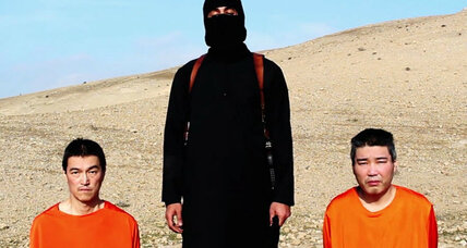 ISIS video: Is this Japanese beheading real or fake? (+video)